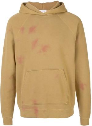 John Elliott double dye raglan hoodie