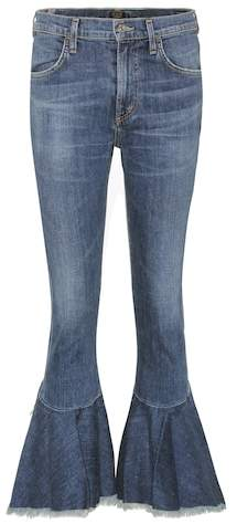 Citizens of Humanity Drew Flounce high-waisted jeans