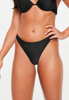 Missguided Ruched Bikini Brief Mix And Match