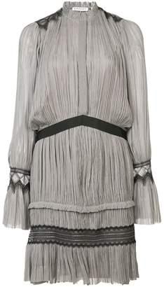 Vionnet pleated short dress