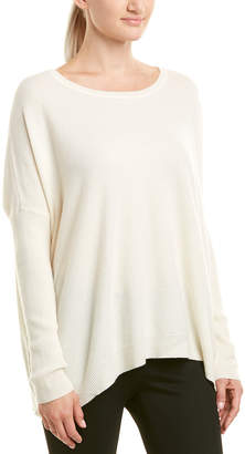 Joan Vass Wool & Cashmere-Blend Sweater