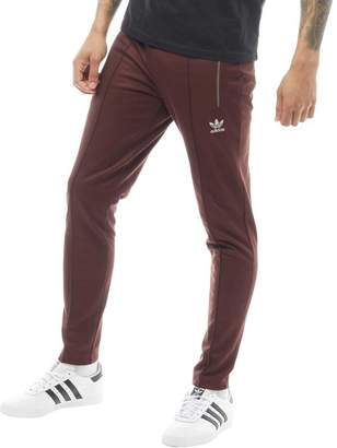 newest 0bc12 34278 adidas Mens Fallen Future Fitted Track Pants Mystery Brown
