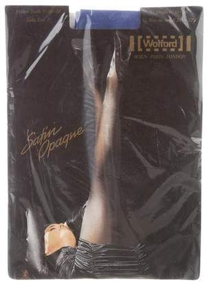 Wolford Satin Opaque Tights w/ Tags