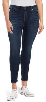 Vince Camuto Plus Cropped Skinny Jeans