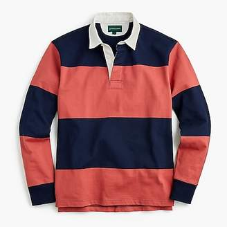 J.Crew 1984 Rugby Shirt In Red Stripe