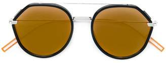 b645343306 at Farfetch · Christian Dior round frame tinted sunglasses