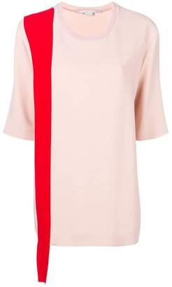 Stella McCartney contrast trim T-shirt