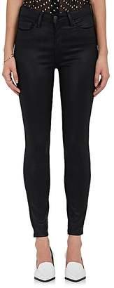 L'Agence Women's Margot Coated Skinny Jeans