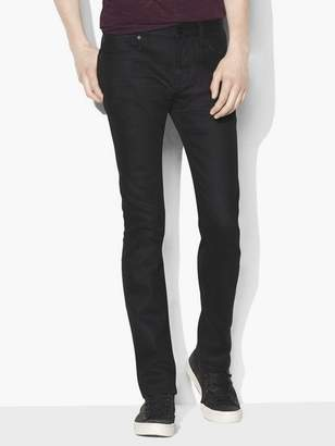 John Varvatos Bowery Coated Cotton Stretch Jean