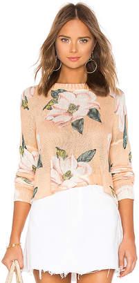 Show Me Your Mumu Cropped Varsity Sweater