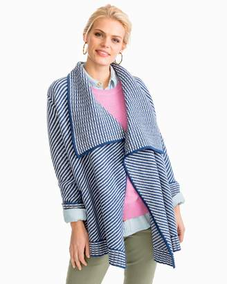 Southern Tide Seascape Drape Coatigan