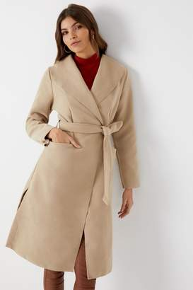 Next Womens Boohoo Waterfall Coat