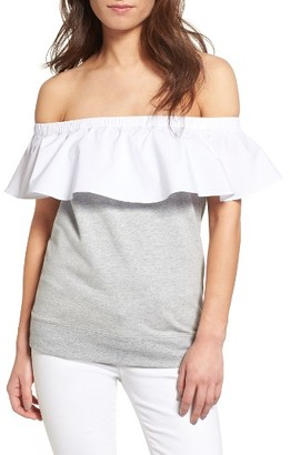 Women's Chelsea28 Tie Back Off The Shoulder Top $59 thestylecure.com