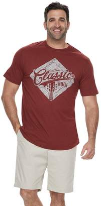 "Sonoma Goods For Life Big & Tall SONOMA Goods for Life ""Classic Rock"" Graphic Tee"