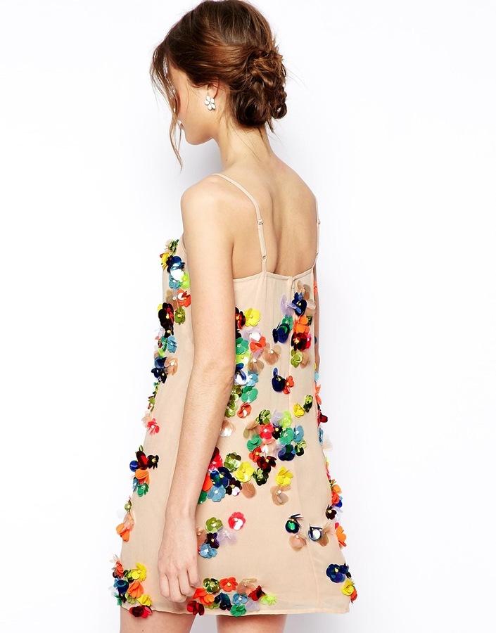 Asos SALON Embellished Dress