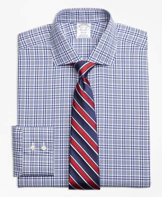 Brooks Brothers Regent Fitted Dress Shirt, Non-Iron Glen Plaid