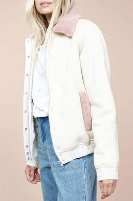 MinkPink Romanticism Sherpa Jacket