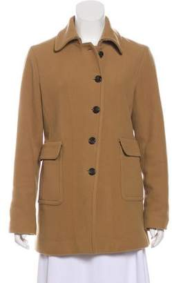 Organic by John Patrick Wool Short Coat