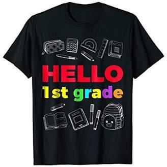 DAY Birger et Mikkelsen Hello First Grade TShirt Gift Happy First Of School