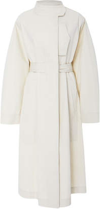 Isabel Marant Jaci Cotton-Gabardine Trench Coat