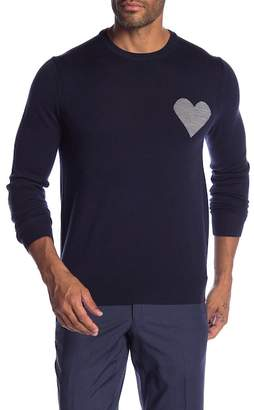Michael Bastian Heart Sweater