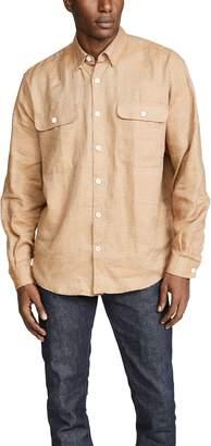 Schnayderman's Oversized Linen Shirt
