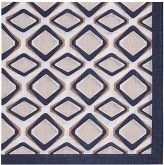 Reiss Francisco Linen Pocket Square