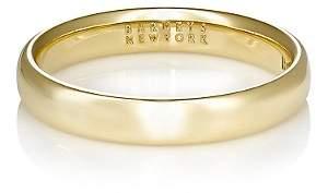 Barneys New York Men's Thin Domed Band - Gold