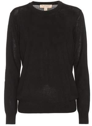 Burberry Merino wool crewneck sweater