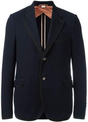 Gucci two button textured blazer