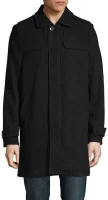 Andrew Marc Textured Long-Sleeve Jacket