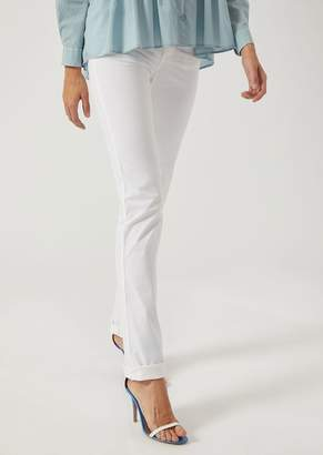 Emporio Armani J85 Slim Fit Jeans In Stretch Twill