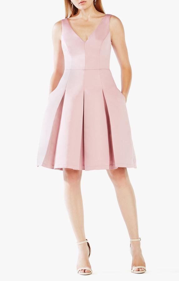 BCBGMAXAZRIATilldah Pleated Dress