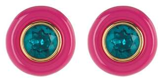 Trina Turk Oversized Resin Stud Earrings