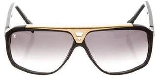 a6bbd6da2b9d Pre-Owned at TheRealReal · Louis Vuitton Evidence Aviator Sunglasses