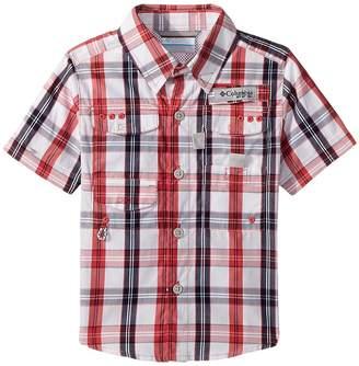 Columbia Kids Super Boneheadtm Short Sleeve Boy's Short Sleeve Button Up