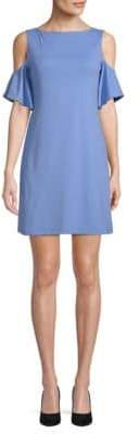 Susana Monaco Cold-Shoulder Dress