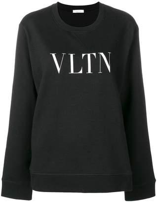 Valentino (ヴァレンティノ) - Valentino VLTN プリント スウェットシャツ