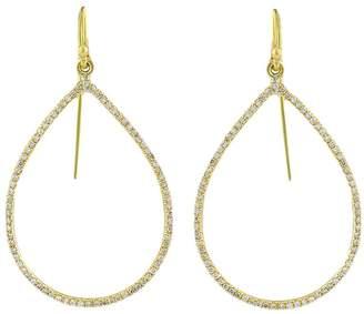 Irene Neuwirth gold pear shape earrings