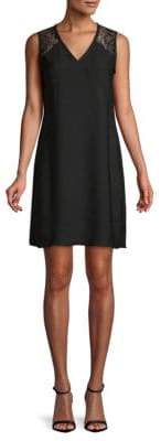 ABS by Allen Schwartz Sleeveless A-Line Dress