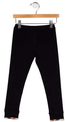Burberry Girls' Mid-Rise Skinny Leggings w/ Tags