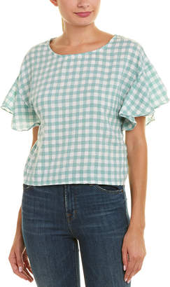 MinkPink Gingham Top