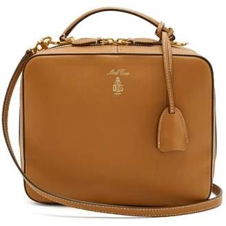 Mark Cross Laura Leather Shoulder Bag - Womens - Tan