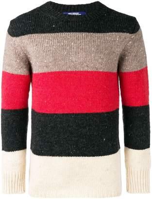 Junya Watanabe colour block knit jumper