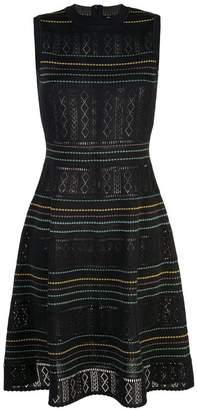 Carolina Herrera pointelle-knit dress