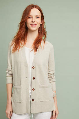 Anthropologie Lace-Up Cardigan