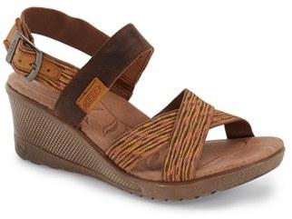 Women's Keen 'Skyline' Slingback Wedge Sandal $99.95 thestylecure.com