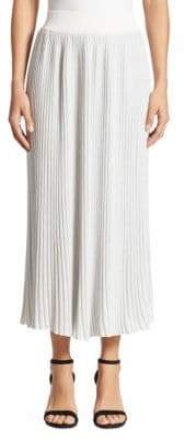 ADAM by Adam Lippes Rib-Knit Midi Skirt