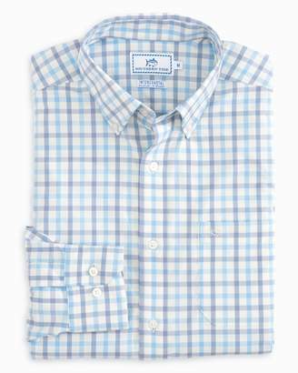 Southern Tide Rivercourse Plaid Intercoastal Performance Shirt
