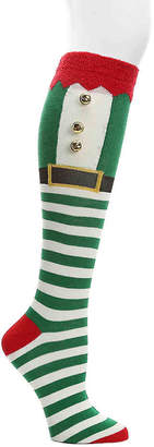 Mix No. 6 Elf Jingle Bell Knee Socks - Women's